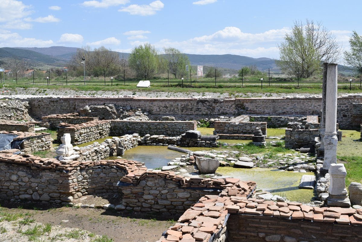 Residential area in Nikopolis ad Nestum, supposedly inhabited by nobles