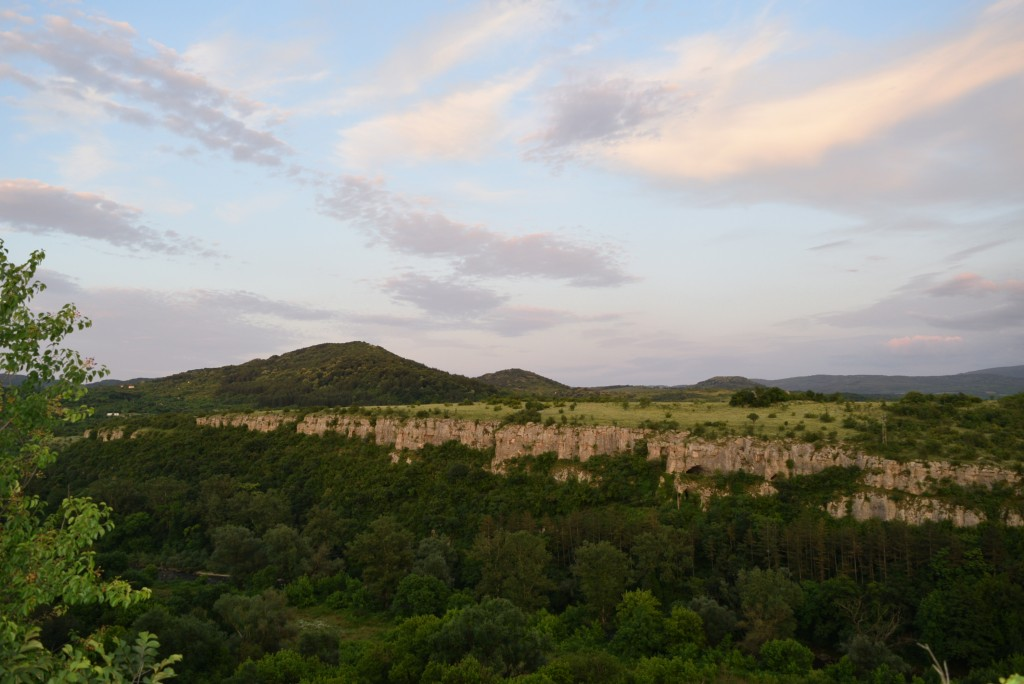 The gorge of river Osam