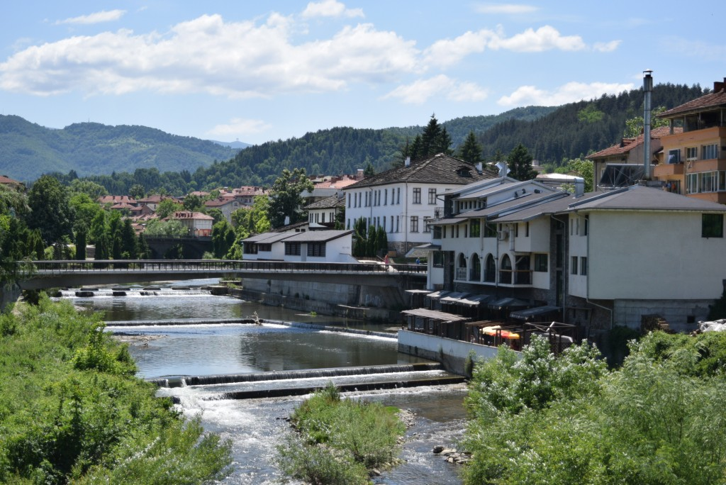 The city of Troyan