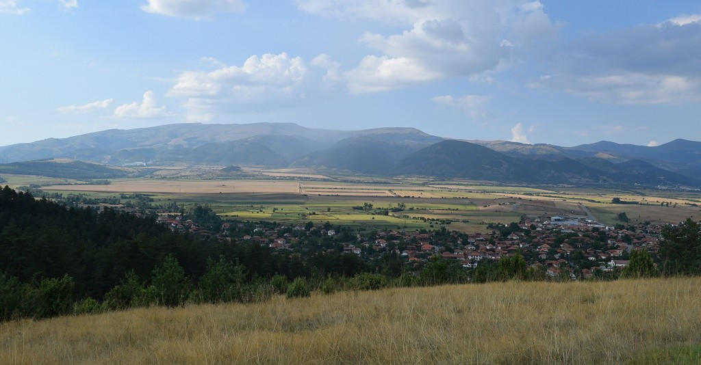 Village of Chavdar as seen from the top