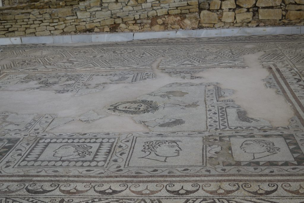 Villa Armira Gorgona mosaics