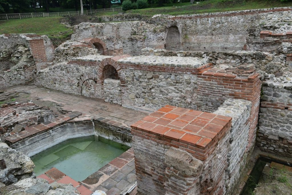 Hissarya Roman thermal baths Bulgaria what to see and do