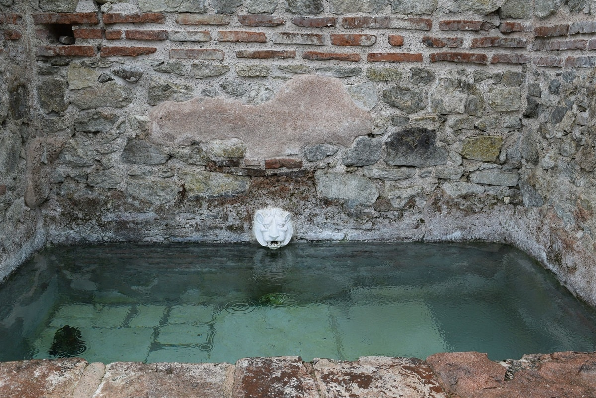 Hissarya Roman thermal baths
