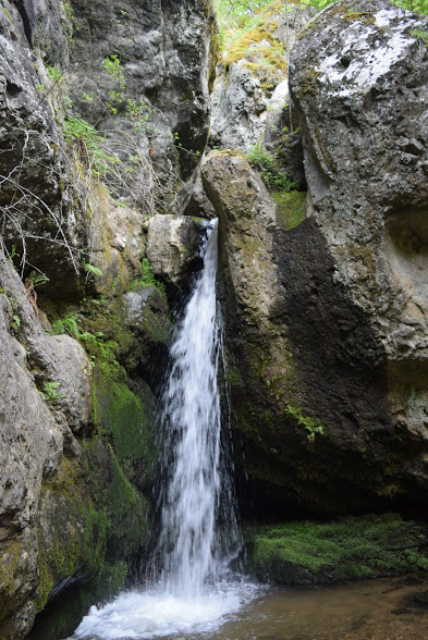 Bohemia waterfalls Rila Monastery